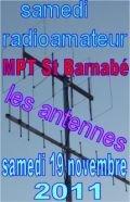 Samedi radioamateur sur les antennes samedi 19 novembre 2011