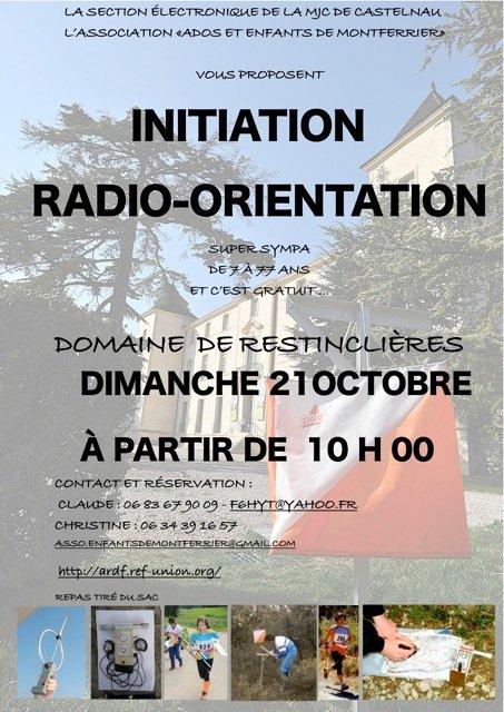 Initiation Radio-Orientation dans ARDF topo-ini