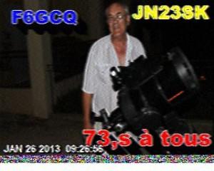 QSO SSTV sur le R7 de Marseille 201301260832-300x240