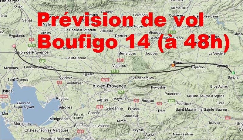 La Boufigo 14 ... dans ballon previ-b14-48h