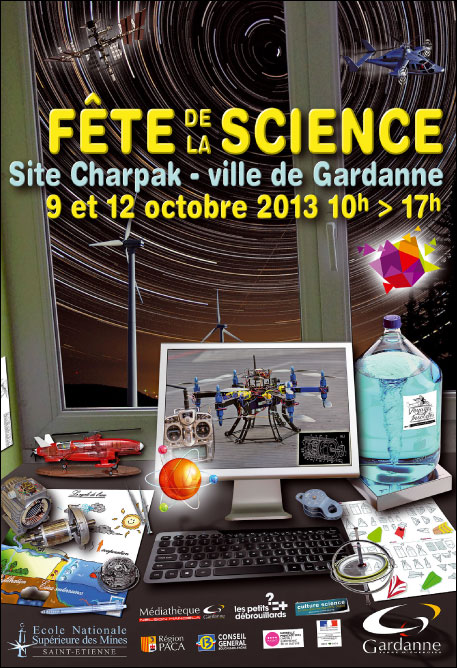 L'ADREF 13 à la fête de la science de Gardanne dans activites fete-science-2013-aff-b5e1c