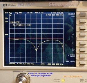 Antenne 5,7 GHz avec tuyau de gouttière de 80 mm-5