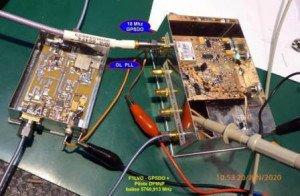 Pilote 5760,913 MHz+GPSDO