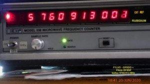 Pilote 5760,913 MHz+GPSDO - EIP