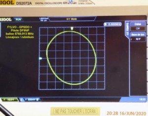 Pilote 5760,913 MHz+GPSDO - Lissajou-1